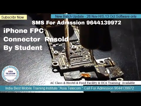 iphone  data fpc connector resold Technique by Asia Telecom Student #Live# Particle# IndNo.1