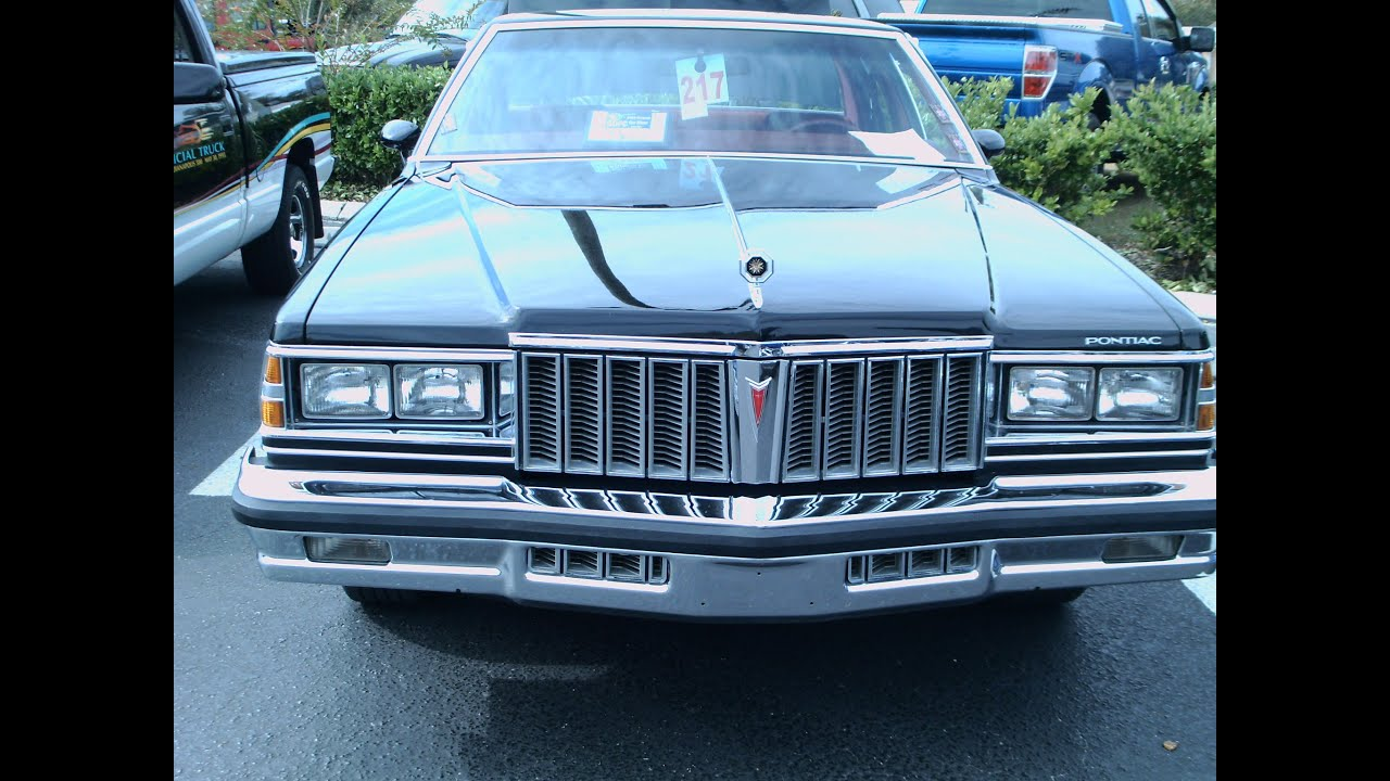 & 1979 Pontiac Bonneville Four Door Sedan Blk Ocoee110814 - YouTube pezcame.com