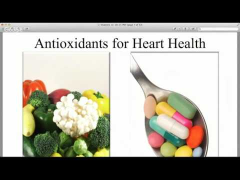 Should I Take Supplements & Vitamins? Webinar: 12/10/15