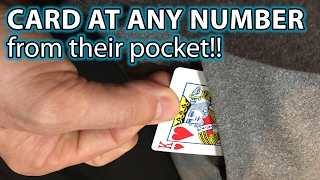 Magic Card Trick from THEIR Pocket! Revealed!