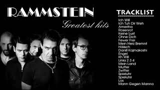 ✔rammstein greatest hits 2018 - the best of rammstein collection✔don't forget like share comment
