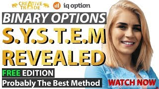 IQ Option Strategy Best Digital Binary Options Method Creative Trade System Revealed Real Account