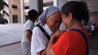 Publication Date: 2017-07-22 | Video Title: 94歲霍文璽修女返馬鞍山 與舊生礦工子弟重溫往事/ 公教報