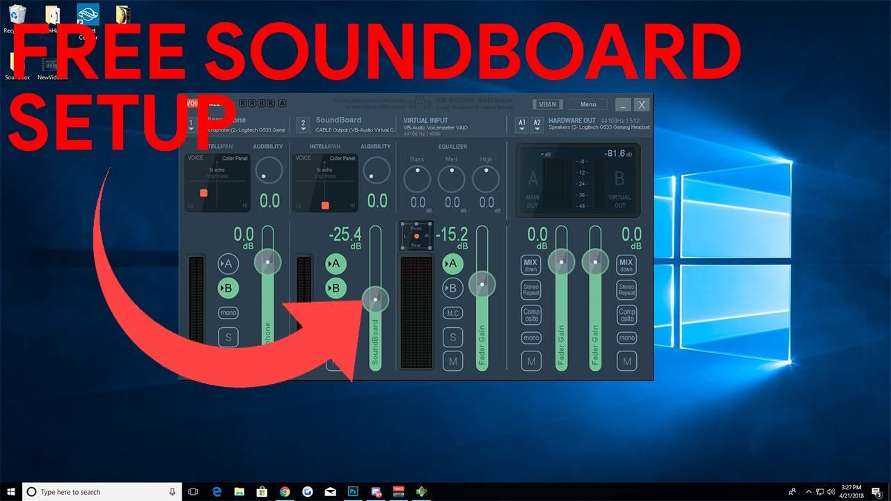 Setting up a Soundboard for Games, VRCHAT & Discord! FREE!