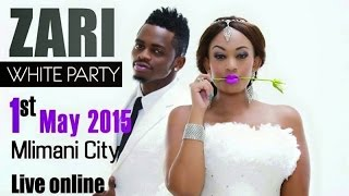 ZARI ALL WHITE PARTY RED CARPET FT DIAMOMD PLATNUMZ