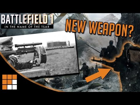 Battlefield 1: New MG14/17 Weapon Confirmed for Russian DLC?