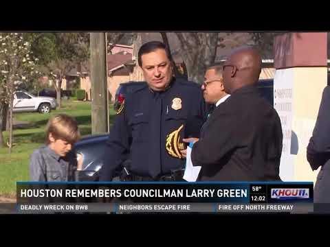 Houston remembers Councilman Larry Green