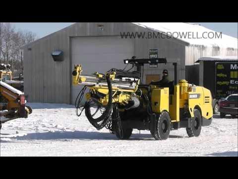MCDOWELL EQUIPMENT - Atlas Copco S1D Jumbo Drill