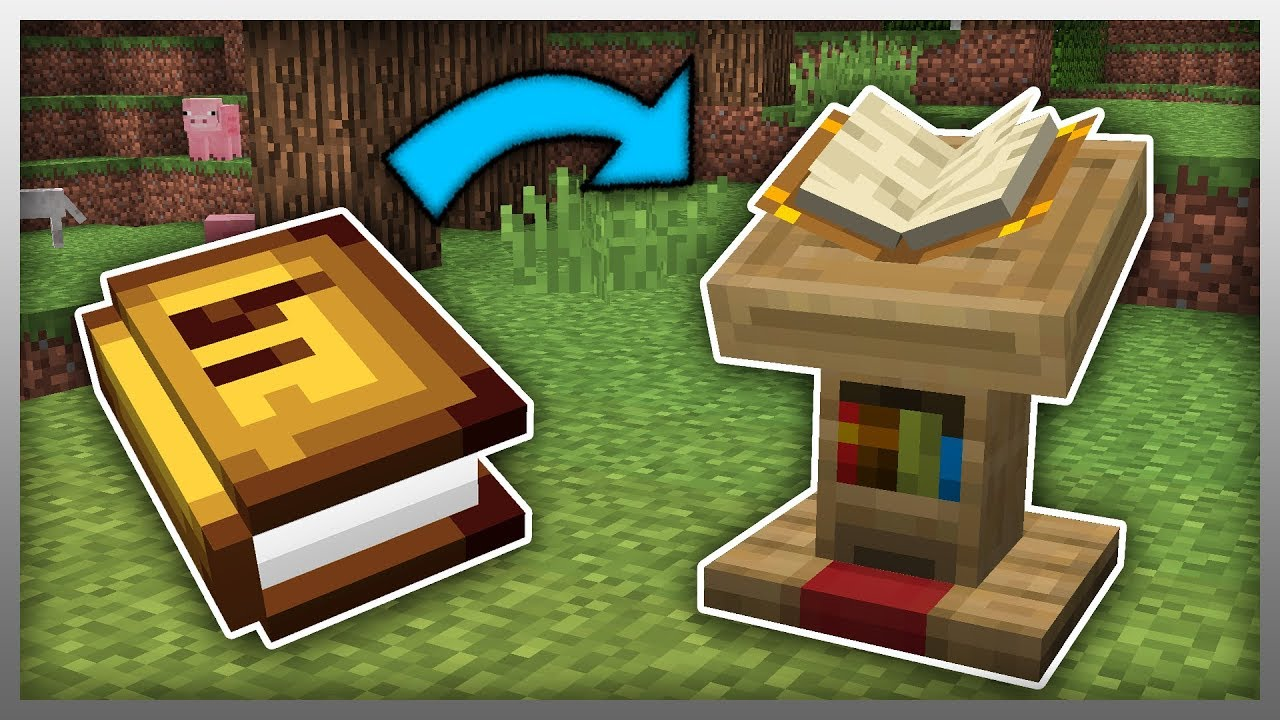 Minecraft News 1 14 Lectern Update News Concept Youtube