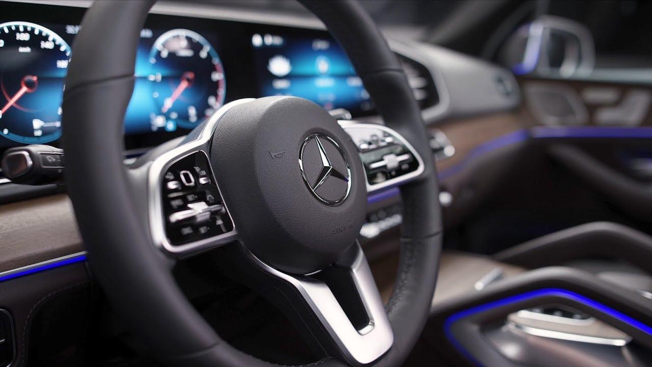 2019 Mercedes Benz Gle 450 4matic Interior Youtube