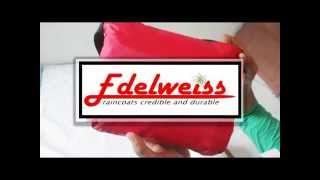 tutorial lipat jas hujan - edelweiss raincoat