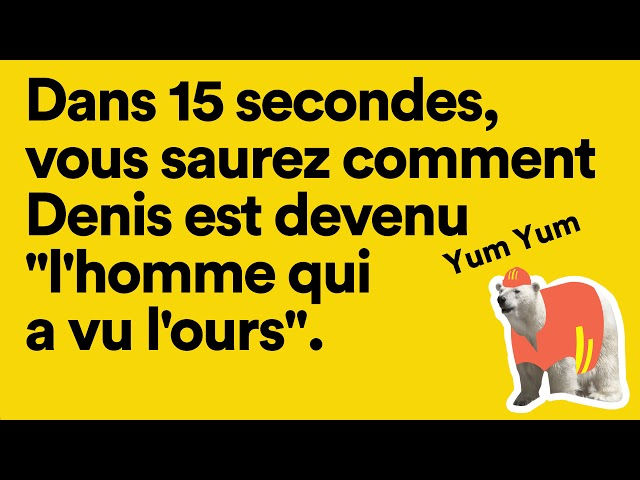 "#MyJobStory N°2 : ""L'homme qui a vu l'ours"""