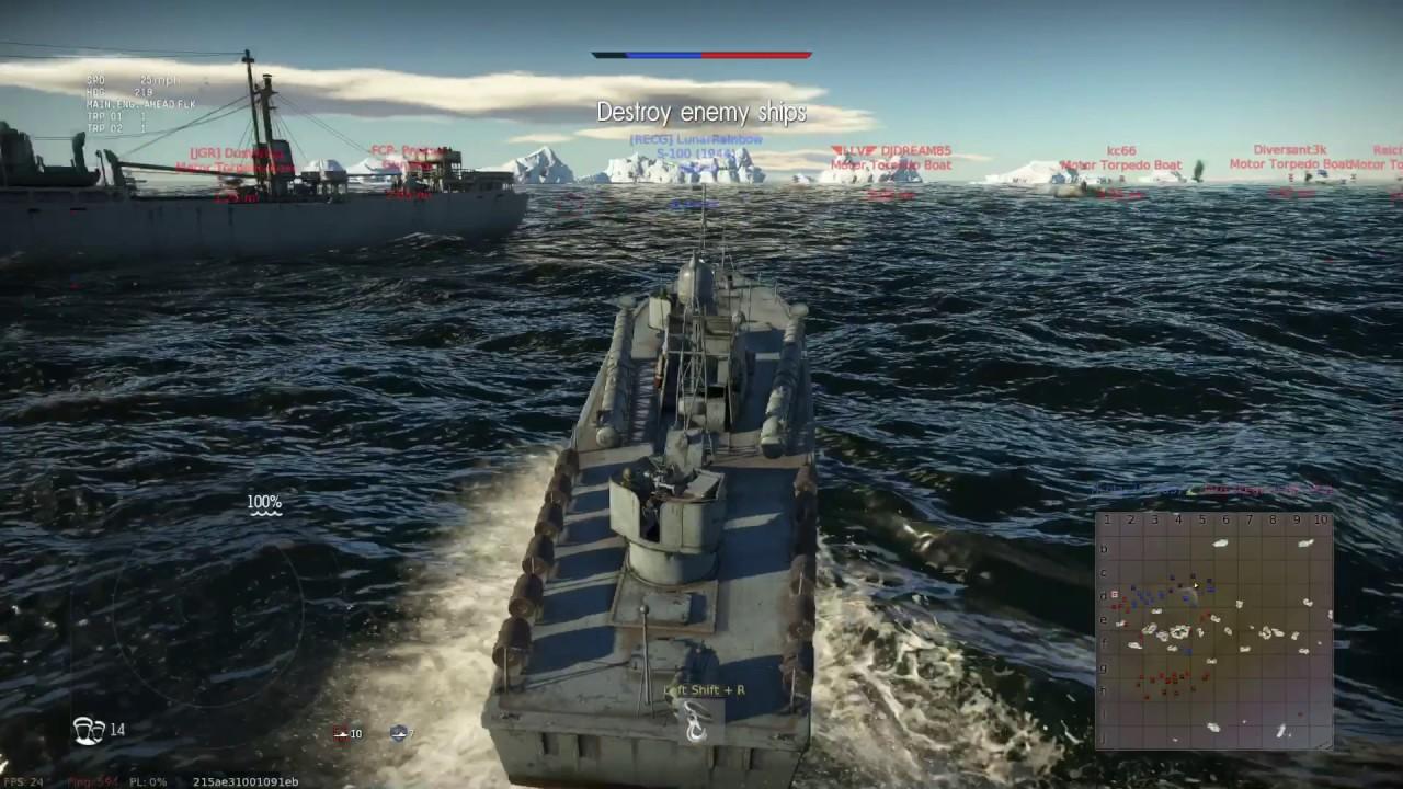 War Thunder Torpedo Boat