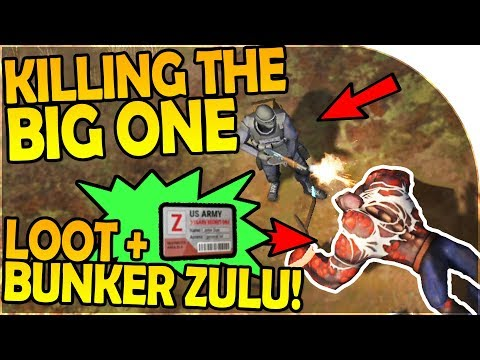 KILLING THE BIG ONE - BUNKER ZULU CARD + THE BIG ONE LOOT - Last Day On Earth Survival 1.5.9 Update
