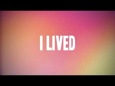 I LIVED - OneRepublic (Kinetic Typography)