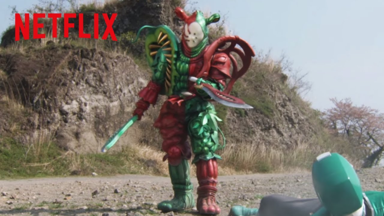 Power Rangers Christmas Tree.Christmas Battle Power Rangers Super Samurai Stuck On Christmas Netflix