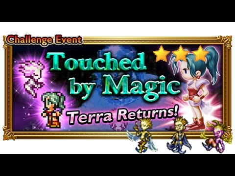 [FFRK] The Dream Stooges FFVI Event [Elite] Playthrough ☆☆☆   Touched by Magic