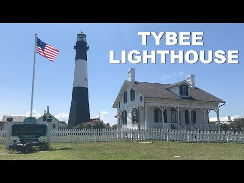Visiting TYBEE LIGHTHOUSE In Georgia
