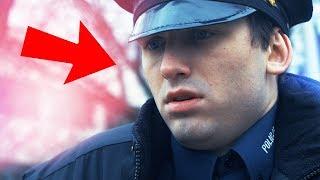 POLICJANT na przypale