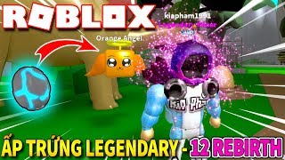 Roblox | The 12th INCUBATION AND LEGENDARY EGG-SECOND REBIRTH-Mining Simulator #4 | KiA Pham