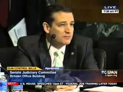 Explosive Exchange at Gun Hearing Between Ted Cruz and Dianne Feinstein