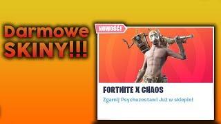 Darmowe Skiny Nowe Wyzwania Update Borderland x Fortnite 10.20 ! + GiveAway na 100 subów