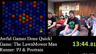 AGDQ2012 The Lawnmower Man co op speed run with Pootrain