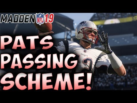 Pass ALL Day With This Scheme! | Madden 19 Best Passing Playbook