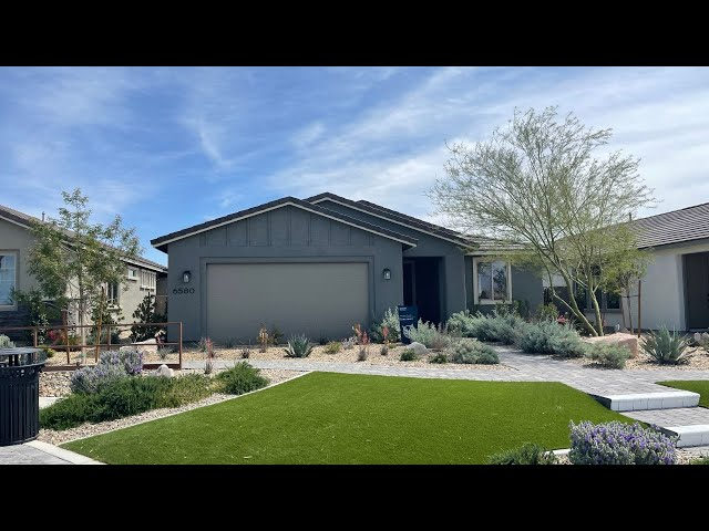 North Las Vegas New Homes For Sale | Del Webb at North Ranch | 55+ | Sanctuary Home Tour $378k+