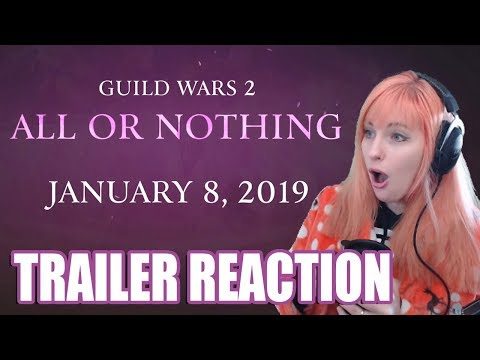 PEACHY REACTS ● All or Nothing Trailer & Discussion ● Guild Wars 2 thumbnail