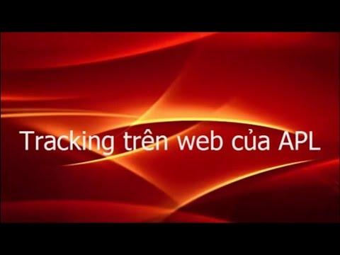 Tra cuu lo hang bang phan Tracking cua APL