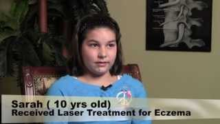 bax 3000 laser therapy treatment for eczema