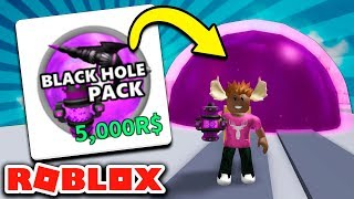 Dansk Roblox Destruction Simulator #3 - BLACK HOLE PACK