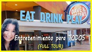 Dave And Busters Video Juegos Para Todos  Full Tour  2019 Miami - Florida