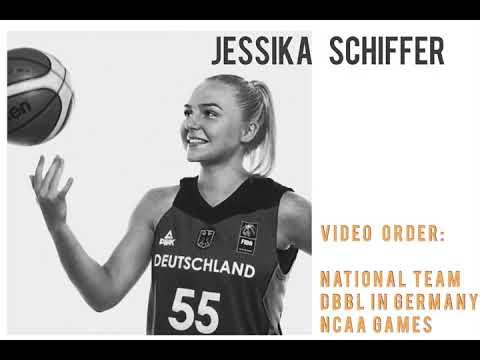 Jessika Schiffer (Basketball Highlights) |