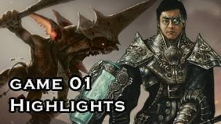 """magic The Gathering"" Highlights Kuldotha Red Vs Pike G1 (01-27-2012)"
