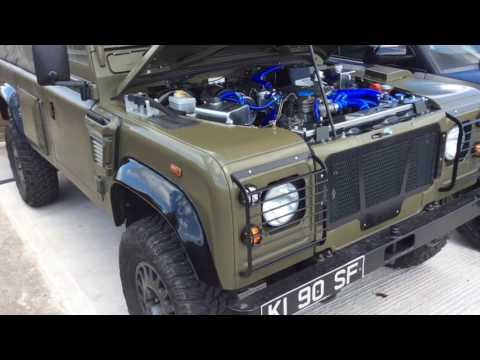 UK Military Wolf Project 1 off Limited Edition 300 Tdi