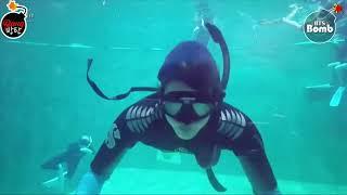 [Sub Español] [BANGTAN BOMB] Jin's 'Skin diving'…