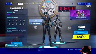 Live Fortnite PARTIE PERSO / LIVE PP / LIVE FIGHT / Multi Jeux / Game abo / SKIN A GAGNER  #PP#LIVE