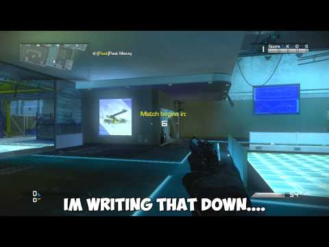 COD Ghosts - Gun Game Knifing Trolling - SO MUCH SWEARING!!!