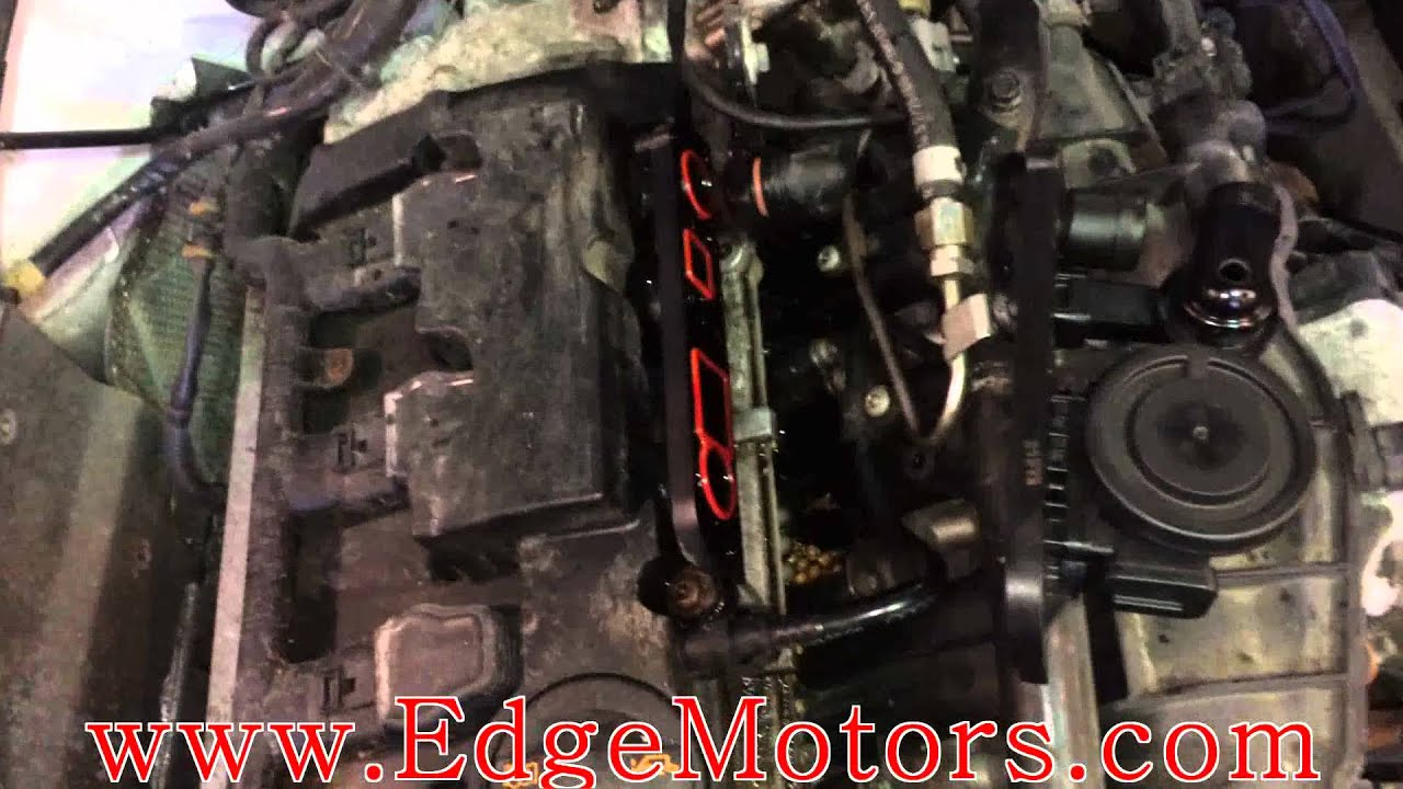 hight resolution of vw audi 2 0t fsi pcv positive crankcase ventilation valve replacement diy by edge motors