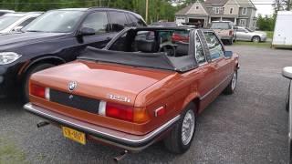 1979 BMW 323i Baur Cabriolet
