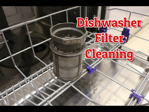 How To Clean Dishwasher Filter | How To Clean LG Dishwasher Filter