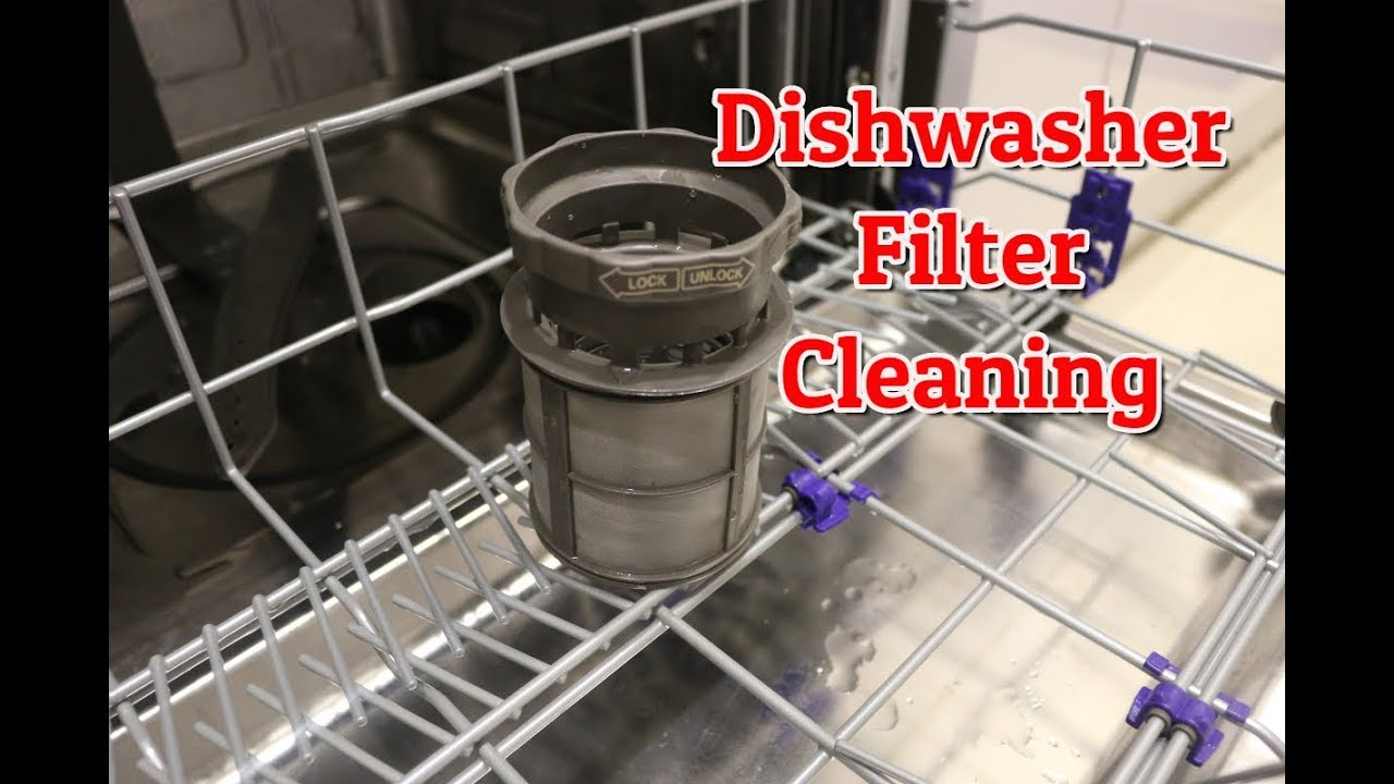 How To Clean Dishwasher Filter Lg You