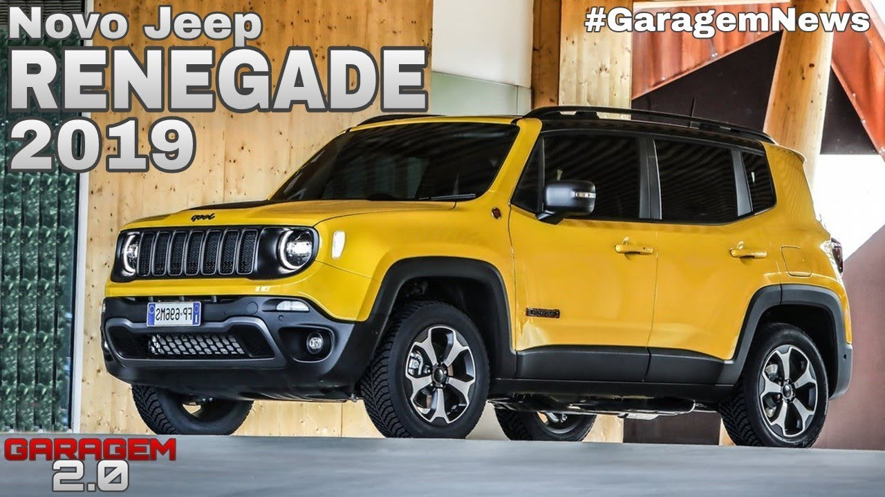 Novo Jeep Renegade 2019 Garagem 2 0 Youtube