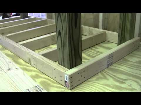 BUILDING A STRONG WORKBENCH PT 1 OF 4