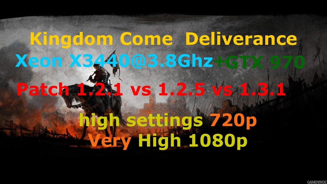 kingdom come deliverance patch 1.2.5