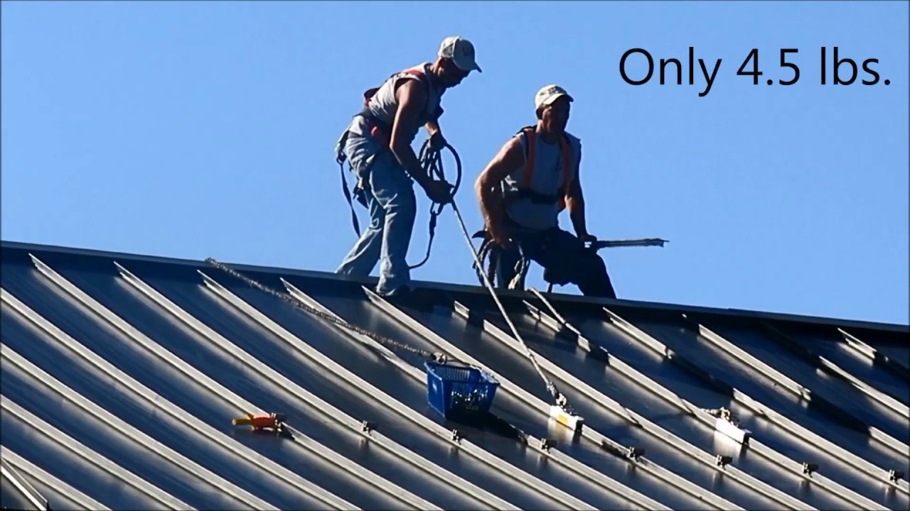 Standing Seam Roof Anchor Intro Youtube