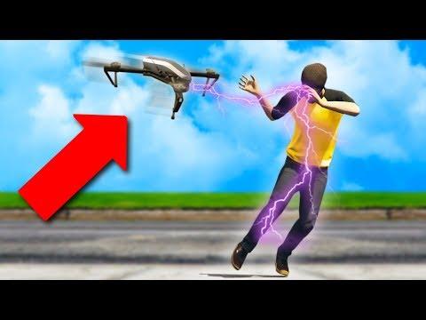 ELECTRIC-SHOCK DRONE TROLLING! | GTA 5 THUG LIFE #182