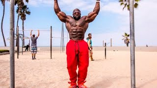 MONSTER STRENGTH PULL UPS + MUSCLE-UPS(250 LBS doing Pull-Ups, Muscle-Ups, Dips, Push Ups, and Handstand Pushups. Money & Muscle Workout Music (ITunes) ..., 2015-08-16T14:48:17.000Z)